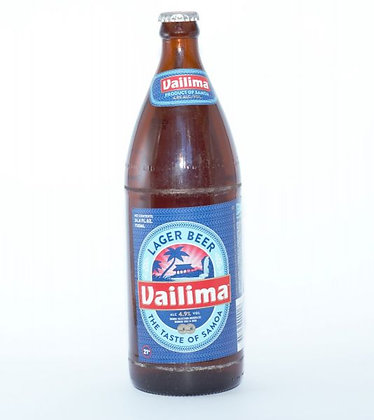 Vailima lager 4.9% 750ml
