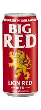 LION RED 6X440ML  CANS