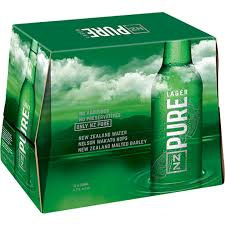 Nz Pure 12pk bottles