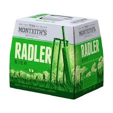 MONTEITHS RADLER 12PK BOTTLES