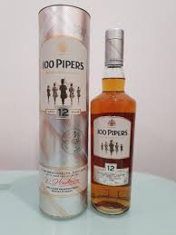 100 PIPERS 12 YEARS OLD 750ML