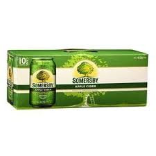 SOMERSBY CIDER 10PK CANS
