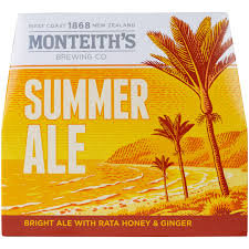MONTEITHS SUMMER ALE 12PACK