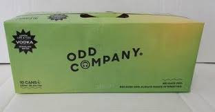 ODD COMPANY VODKA 5% 10PK CANS