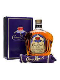 Crown Royal Canadian whiskey 1 ltr