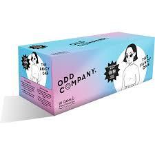 ODD COMPANY GIN 5% 10PK CANS