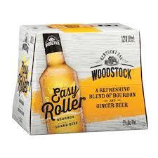 WOODSTOCK EASY ROLLER GINGER 5% 12OK BOTTLES