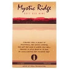 MYSTIC RIDGE RED 3 LITRE CASK