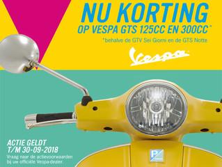 Vespa Kortingen op Vespa GTS