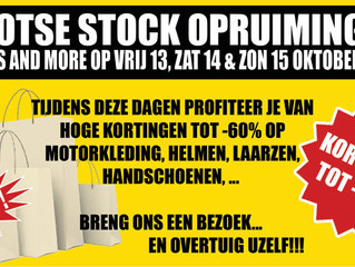 Grootse stock opruiming bij Bikes And More!