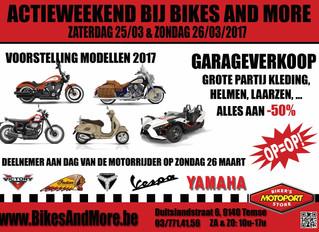 Actieweekend bij Bikes And More!