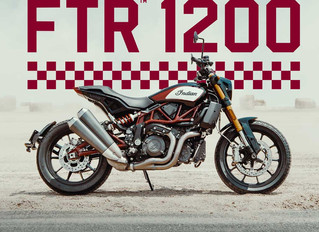 Exclusieve Voorstelling Indian FTR1200