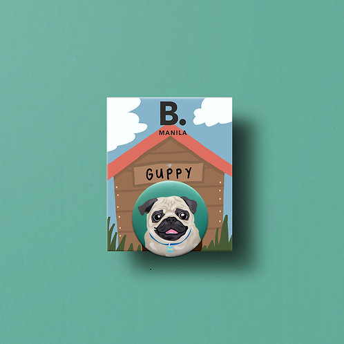 Guppy Buttonpin