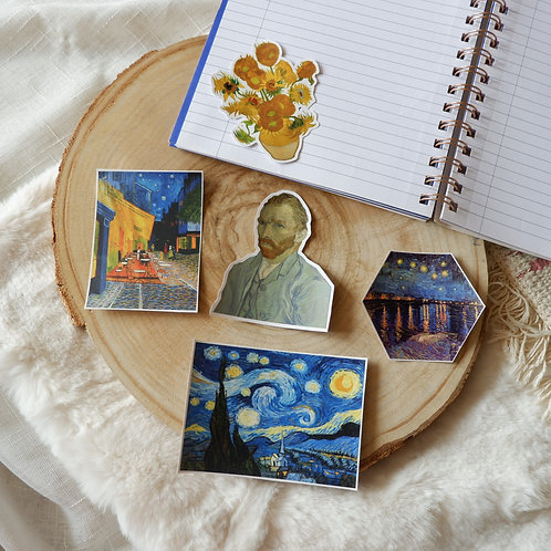 Van Gogh Sticker Set