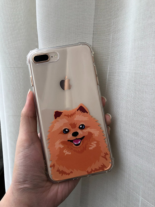 CHOMPIE THE POMERANIAN SHOCKPROOF CASE