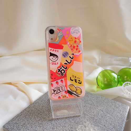 The Japanese Snacks Glow Sand Case
