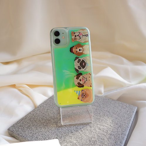 The Dog Gang Glow Sand Case