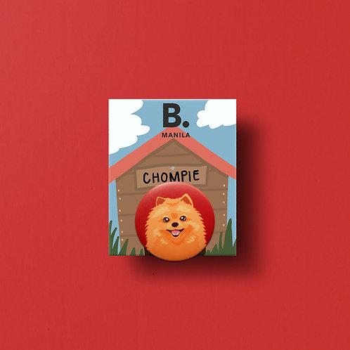Chompie Buttonpin