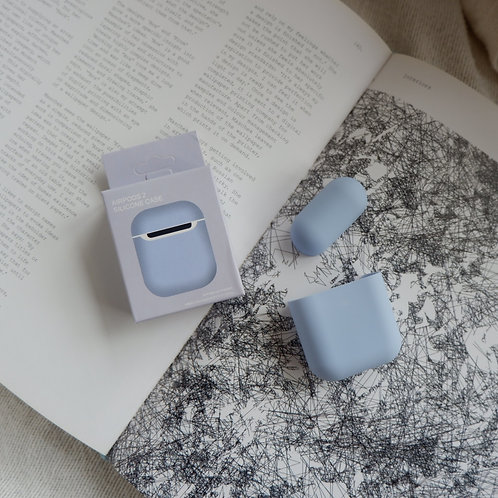 Lilac Silicone Airpods 1 and 2 Case