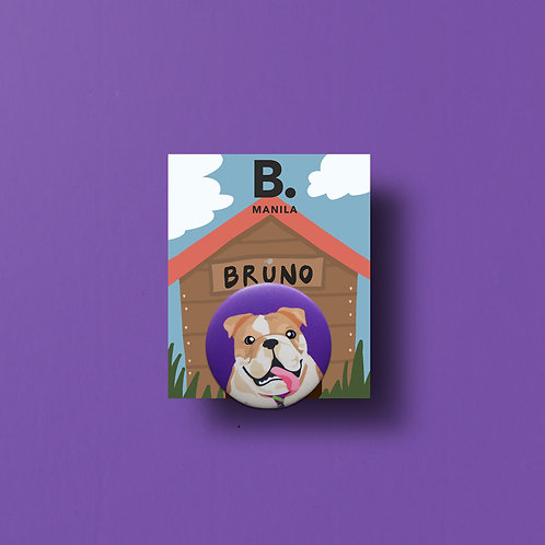 Bruno Buttonpin