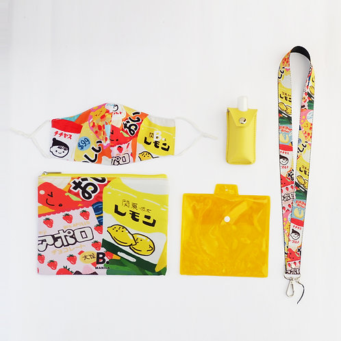 THE JAPANESE SNACKS B. SAFE KIT