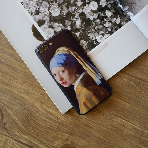 GIRL WITH A PEARL EARRING BLACK SOFT CASE