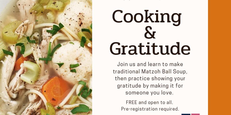 Cooking & Gratitude
