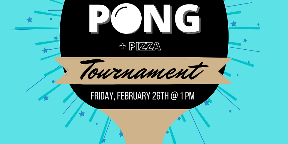 Ping Pong and Pizza!