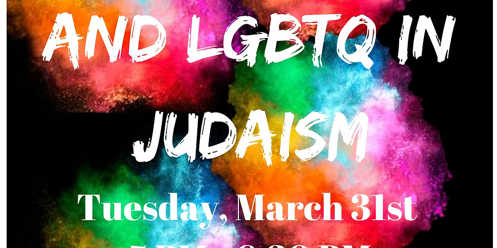 A Discussion on Sexuality and LGBTQ in Judaism