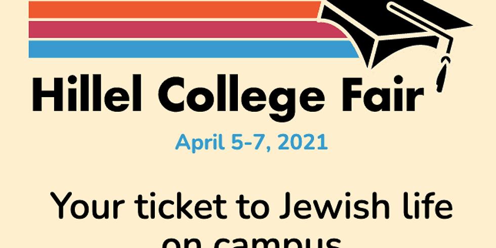 Hillel Virtual College Fair