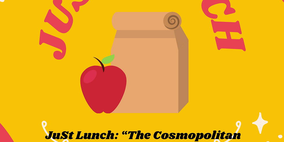 """JuSt Lunch: """"The Cosmopolitan Jewish City"""" with Alan Levenson"""
