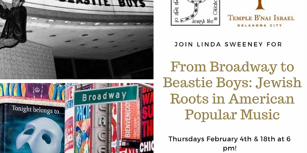 Broadway to Beastie Boys: Jewish Roots in Popular American Music