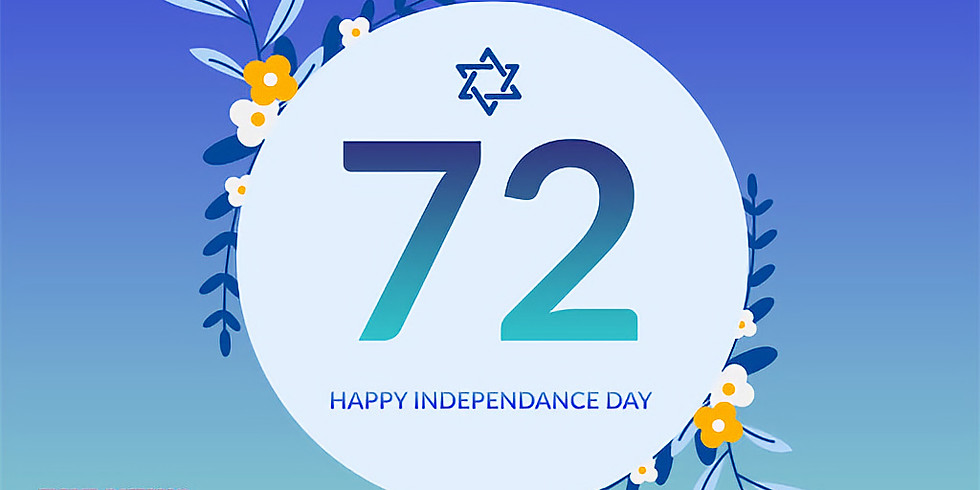 Israel's Independence Day (72)!