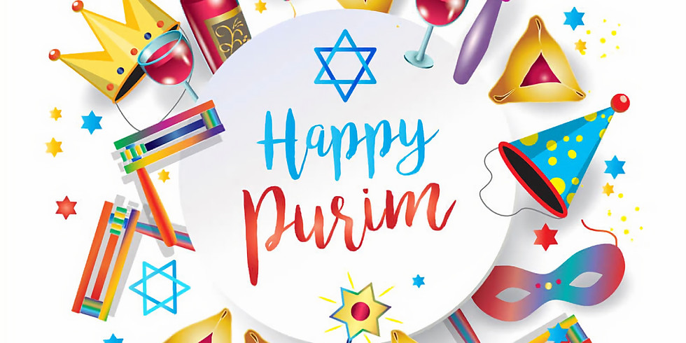 Purim Goodie Bags and Dinner To-Go!