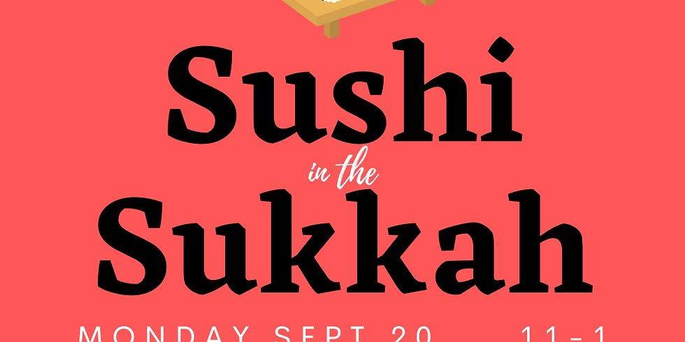 Sushi in the Sukkah!