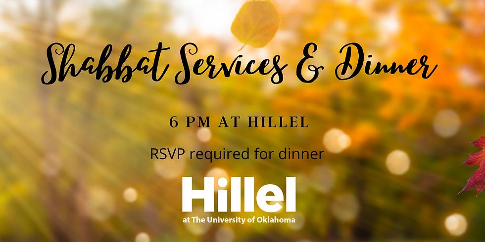 Shabbat Services & Dinner!