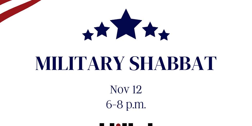 Military Shabbat: Services & Dinner!