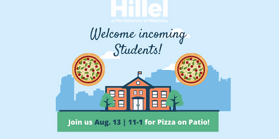 Welcome Back Pizza on the Patio!