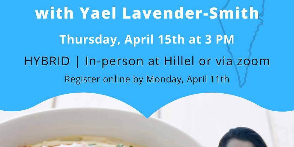 Israeli Cooking Class with Yael Lavender-Smith