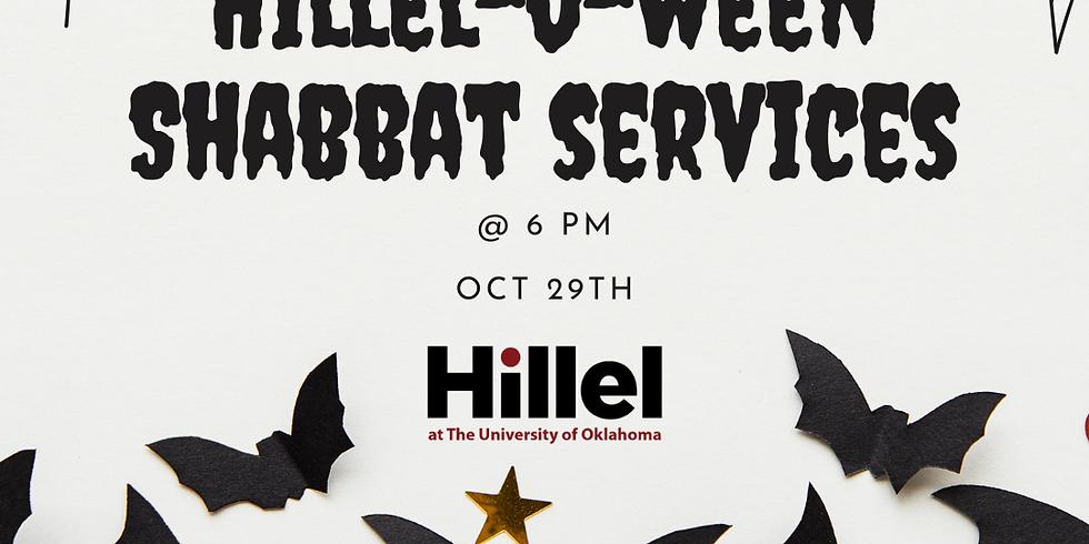 Hillel-o-ween Shabbat Services & Dinner!