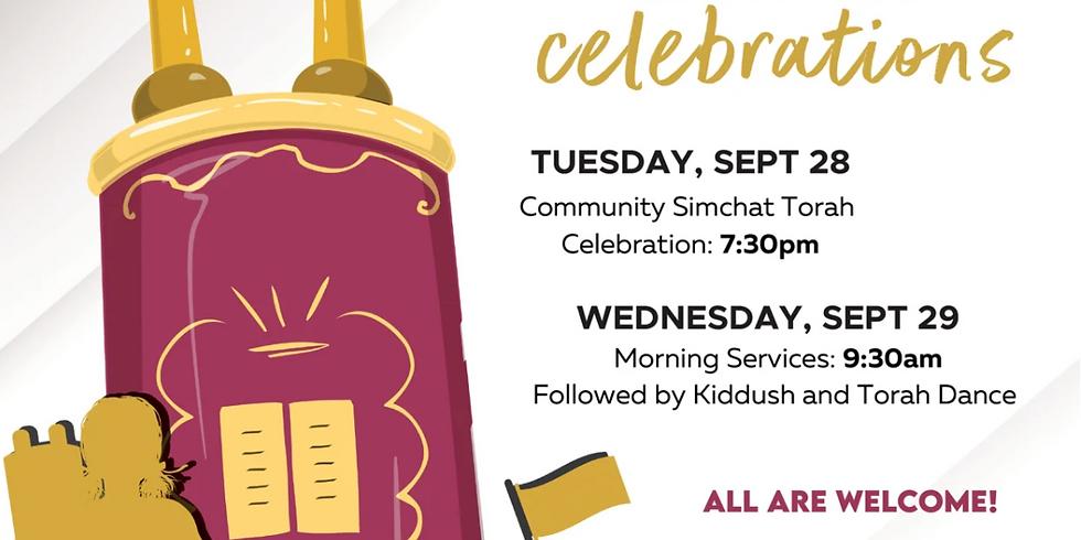 Simchat Torah Celebrations at Chabad OKC!