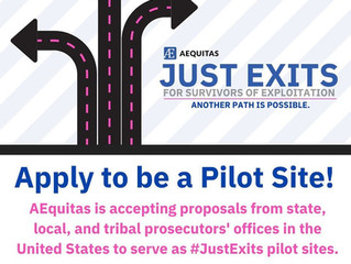 "Apply to be a ""Just Exits"" Pilot Site"