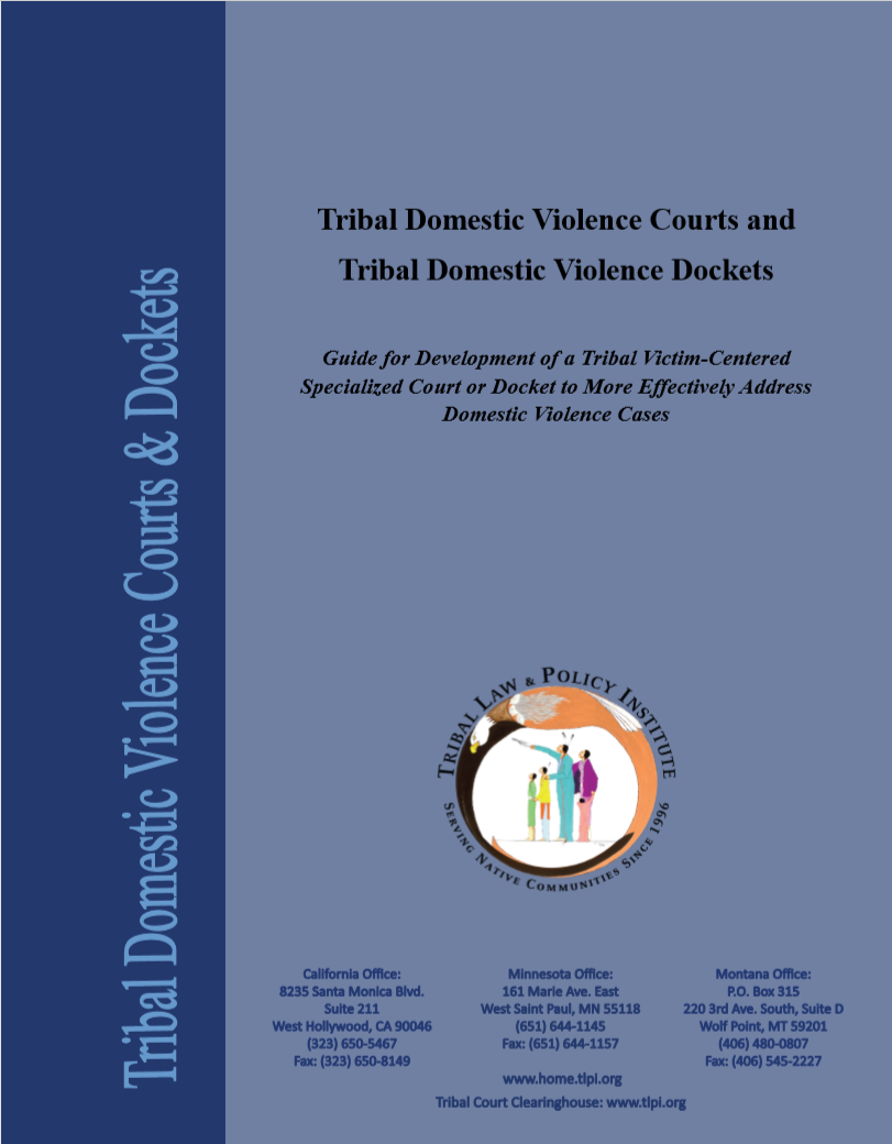 6760f80ff Tribal Domestic Violence Courts Dockets