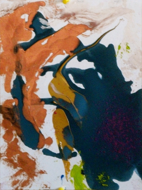oil on paper, 2012