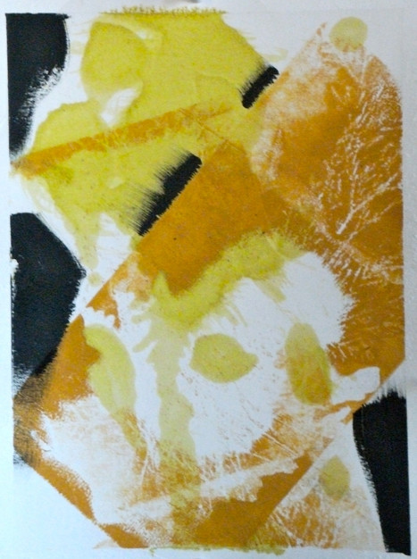 oil on paper, 2011
