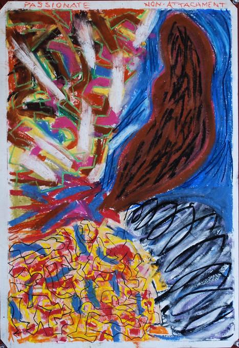pastel on paper, 2010