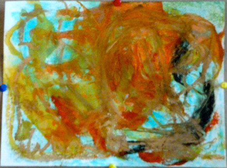 oil on paper, 2010