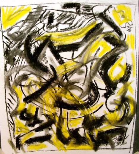 pastel on paper, 2011