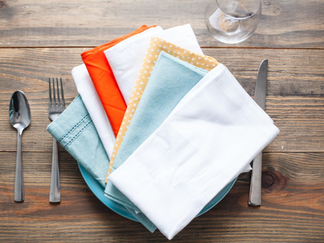 The Folded Napkin - Author Unknown