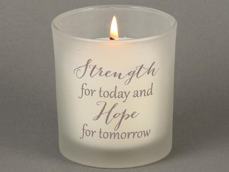 Strength for Today, Hope for Tomorrow - Holding onto God When Life Falls Apart